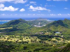 Oahu Hawaii coastal landscape